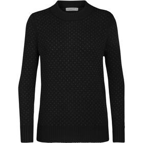 Icebreaker Waypoint Crew sweater Damer, black